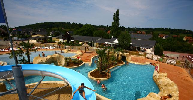 Camping la vall e de deauville for Camping cabourg piscine